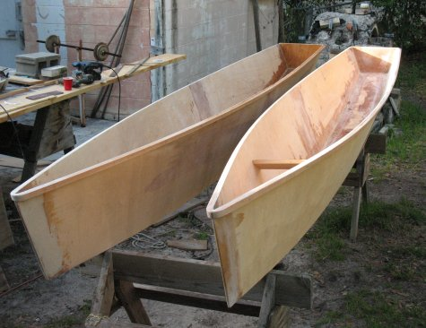 Building a 14 foot cartop catamaran