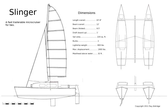 Roks boat guide plans to build a cat boat catamaran boat plans maxwellsz